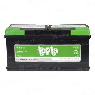 Аккумулятор TOPLA (105 Ah) 850 A, 12 V Обратная, R+ 1