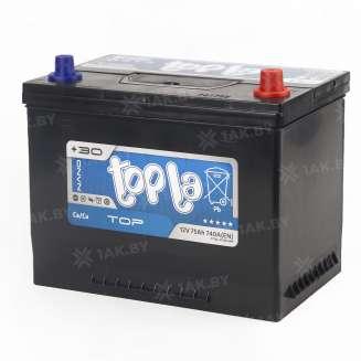 Аккумулятор TOPLA (75 Ah) 740 A, 12 V Обратная, R+ 0