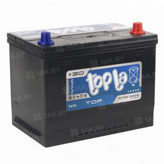 Аккумулятор TOPLA (75 Ah) 740 A, 12 V Обратная, R+ 1