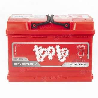 Аккумулятор TOPLA (75 Ah) 750 A, 12 V Обратная, R+ 0