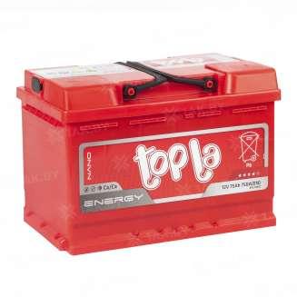 Аккумулятор TOPLA (75 Ah) 750 A, 12 V Обратная, R+ 1