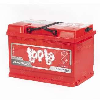 Аккумулятор TOPLA (75 Ah) 750 A, 12 V Обратная, R+ 2