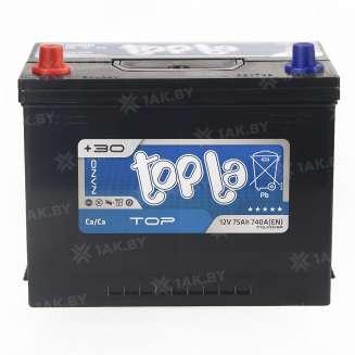 Аккумулятор TOPLA (75 Ah) 740 A, 12 V Прямая, L+ 0