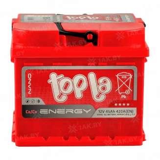 Аккумулятор TOPLA (45 Ah) 420 A, 12 V Обратная, R+ 0
