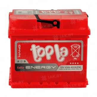Аккумулятор TOPLA (50 Ah) 450 A, 12 V Прямая, L+ 0