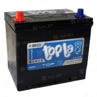 Аккумулятор TOPLA (60 Ah) 600 A, 12 V Прямая, L+ 0