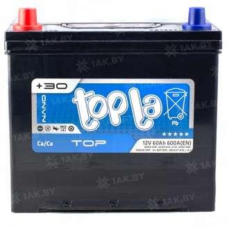 Аккумулятор TOPLA (60 Ah) 600 A, 12 V Прямая, L+ 1