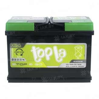 Аккумулятор TOPLA (70 Ah) 760 A, 12 V Обратная, R+ 2