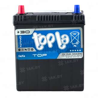 Аккумулятор TOPLA (35 Ah) 300 A, 12 V Прямая, L+ 0