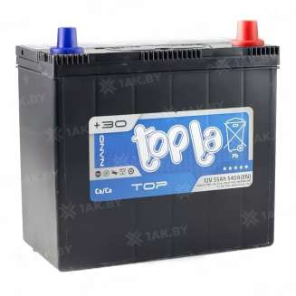 Аккумулятор TOPLA (55 Ah) 540 A, 12 V Обратная, R+ 0