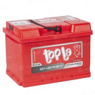Аккумулятор TOPLA (55 Ah) 500 A, 12 V Обратная, R+ 0