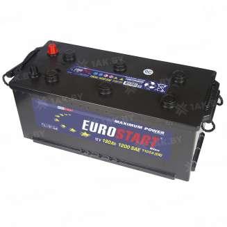 Аккумулятор EUROSTART (190 Ah) 1200 A, 12 V Обратная, R+ 0
