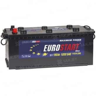 Аккумулятор EUROSTART (190 Ah) 1200 A, 12 V Прямая, L+ 0