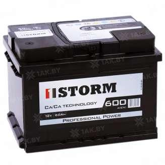 Аккумулятор STORM (60 Ah) 600 A, 12 V Обратная, R+ 0