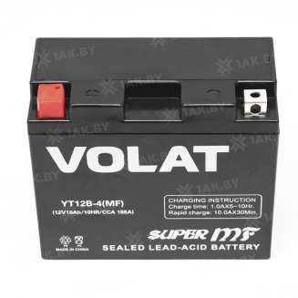 Аккумулятор VOLAT (10 Ah) 155 A, 12 V Прямая, L+ 2