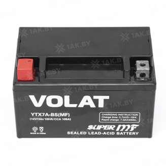 Аккумулятор VOLAT (7 Ah) 105 A, 12 V Прямая, L+ 0