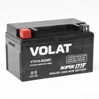 Аккумулятор VOLAT (7 Ah) 105 A, 12 V Прямая, L+ 2