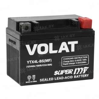 Аккумулятор VOLAT (4 Ah) 50 A, 12 V Обратная, R+ 0