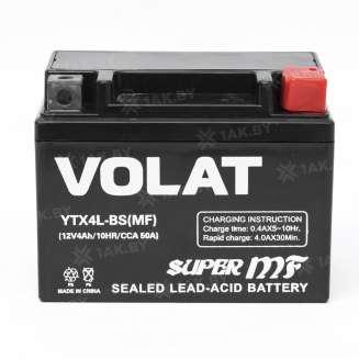 Аккумулятор VOLAT (4 Ah) 50 A, 12 V Обратная, R+ 1