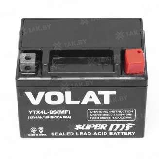 Аккумулятор VOLAT (4 Ah) 50 A, 12 V Обратная, R+ 2