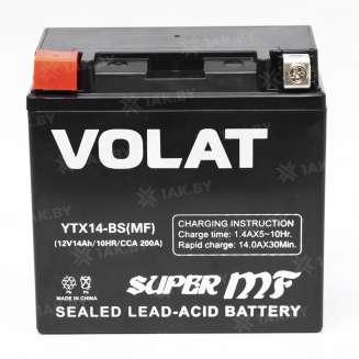 Аккумулятор VOLAT (14 Ah) 200 A, 12 V Прямая, L+ 0