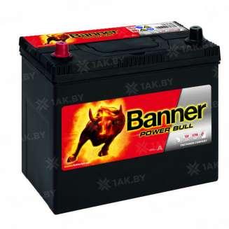 Аккумулятор Banner (45 Ah) 390 A, 12 V Прямая, L+ 0