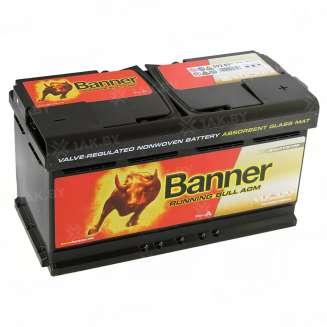 Аккумулятор Banner (80 Ah) 800 A, 12 V Обратная, R+ 0