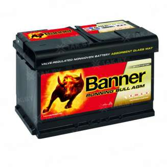 Аккумулятор Banner (70 Ah) 720 A, 12 V Обратная, R+ 0