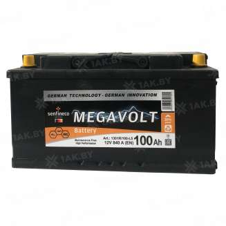 Аккумулятор MEGAVOLT (100 Ah) 840 A, 12 V Обратная, R+ 0
