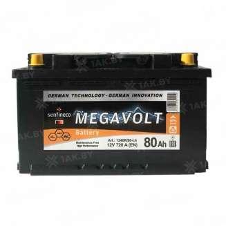 Аккумулятор MEGAVOLT (80 Ah) 720 A, 12 V Обратная, R+ 0