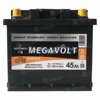 Аккумулятор MEGAVOLT (45 Ah) 390 A, 12 V Обратная, R+ 0