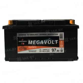 Аккумулятор MEGAVOLT (97 Ah) 800 A, 12 V Обратная, R+ 0