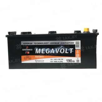 Аккумулятор MEGAVOLT (190 Ah) 1000 A, 12 V Прямая, L+ 0