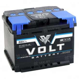 Аккумулятор VOLT (62 Ah) 480 A, 12 V Прямая, L+ 0