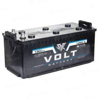 Аккумулятор VOLT (190 Ah) 1250 A, 12 V Боковое расположение 0