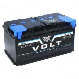 Аккумулятор VOLT (90 Ah) 700 A, 12 V Прямая, L+ 0