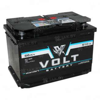 Аккумулятор VOLT (66 Ah) 510 A, 12 V Прямая, L+ 0