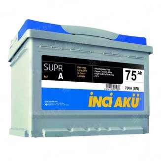 Аккумулятор INCI AKU (75 Ah) 700 A, 12 V Обратная, R+ 0