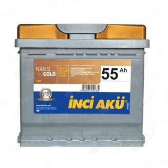 Аккумулятор INCI AKU (55 Ah) 510 A, 12 V Обратная, R+ 0