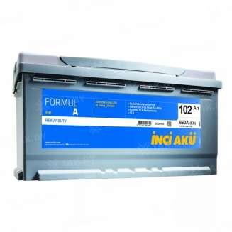 Аккумулятор INCI AKU (102 Ah) 960 A, 12 V Обратная, R+ 0