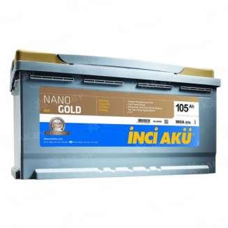 Аккумулятор INCI AKU (105 Ah) 960 A, 12 V Обратная, R+ 0