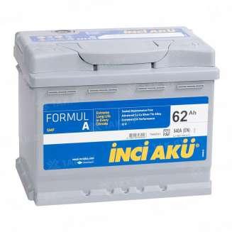 Аккумулятор INCI AKU (62 Ah) 540 A, 12 V Обратная, R+ 0