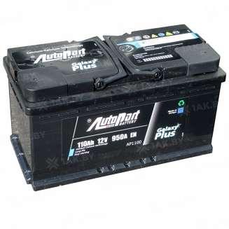 Аккумулятор AUTOPART (110 Ah) 950 A, 12 V Обратная, R+ 0