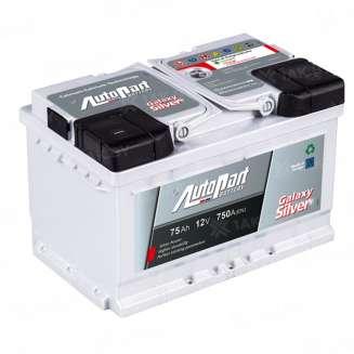 Аккумулятор AUTOPART (75 Ah) 750 A, 12 V Обратная, R+ 0