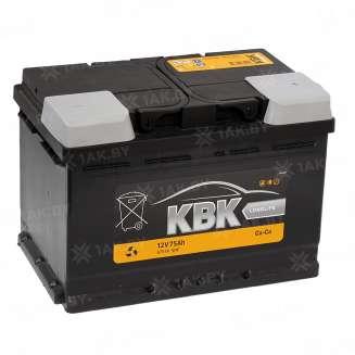 Аккумулятор TAB (75 Ah) 640 A, 12 V Обратная, R+ 0