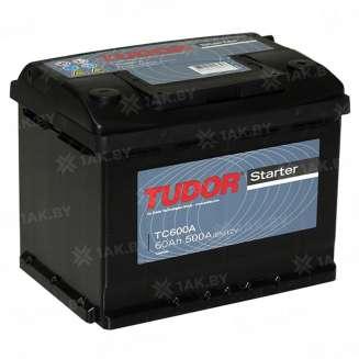 Аккумулятор TUDOR (60 Ah) 500 A, 12 V Обратная, R+ 0