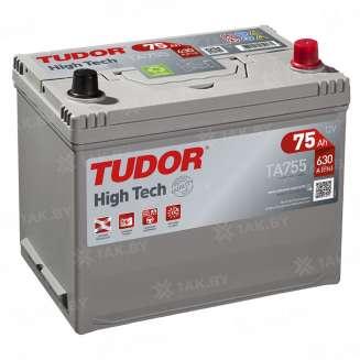 Аккумулятор TUDOR (75 Ah) 630 A, 12 V Обратная, R+ 0