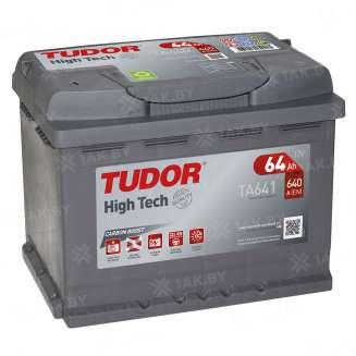 Аккумулятор TUDOR (64 Ah) 640 A, 12 V Прямая, L+ 0
