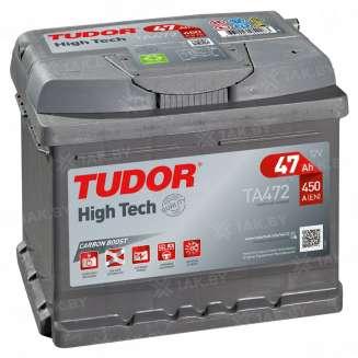 Аккумулятор TUDOR (47 Ah) 450 A, 12 V Обратная, R+ 0