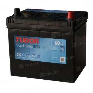 Аккумулятор TUDOR (60 Ah) 520 A, 12 V Обратная, R+ 0
